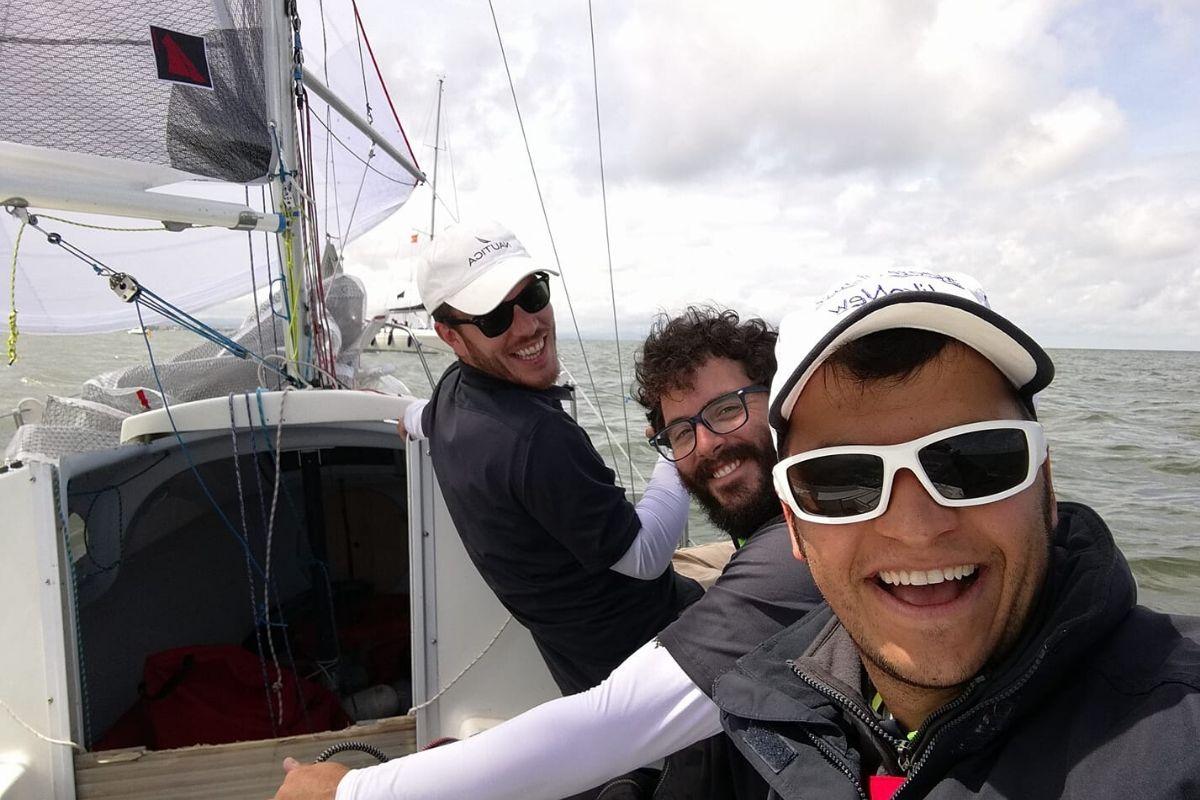 Lorenzo Carloia - Equipaggio barca a vela