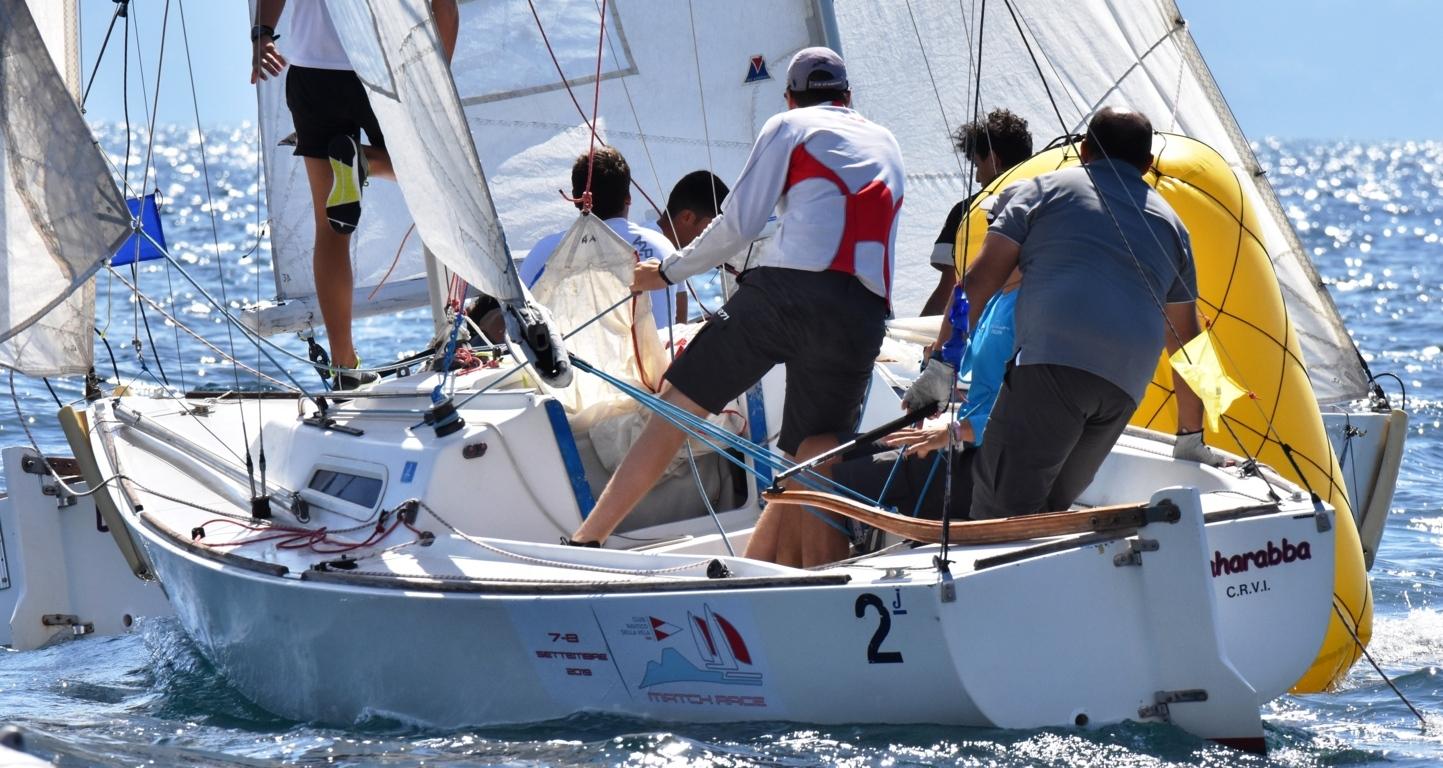 Cosa fare quando si parte dietro durante una regata di match race?